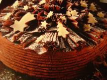 świąteczy tort czekoladowy
