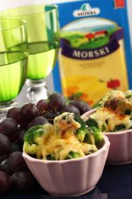 Grillowane brokuły z serem