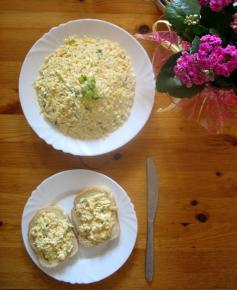 Pasta jajeczna z serem żółtym MSM Mońk