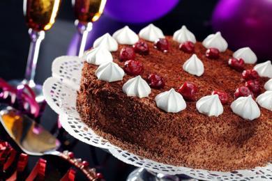 Błyskawiczny tort schwardzwaldzki
