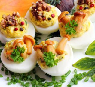 Jajka faszerowane w wersji light