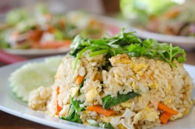 Risotto wegetariańskie z jarmużem i so